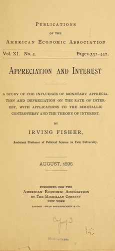 Appreciation and interest by Fisher, Irving