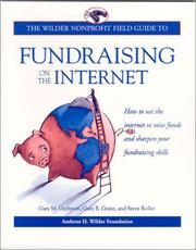 Cover of: The Wilder nonprofit field guide to fundraising on the Internet