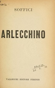 Cover of: Arlecchino