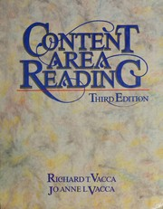 Cover of: Content area reading | Richard T. Vacca