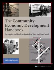 Cover of: The Community Economic Development Handbook