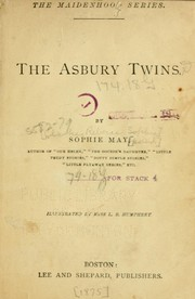 Cover of: The Asbury twins | Sophie May