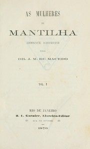 Cover of: As mulheres de mantilha