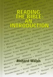 Cover of: Reading the Bible