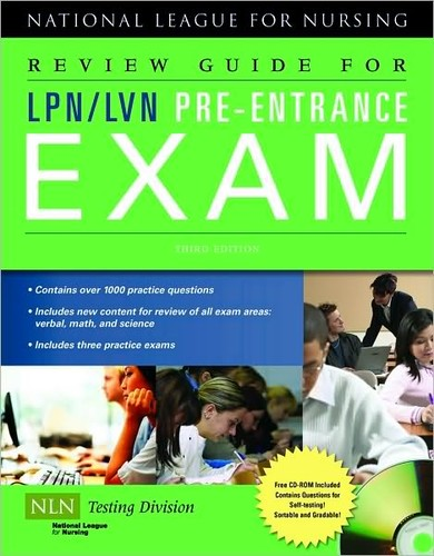 Review Guide For Lpn Lvn Pre Entrance Exam 2009 Edition
