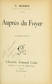 Cover of: Auprès du foyer