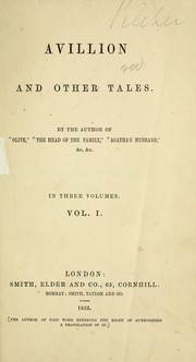 Cover of: Avillion and other tales