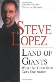 Cover of: Land of giants: where no good deed goes unpunished