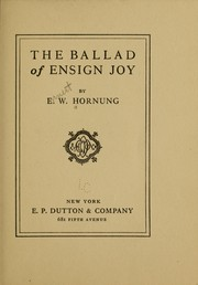 The ballad of Ensign Joy