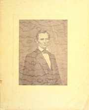 Cover of: Banquet given on the one hundredth anniversary of the birth of Abraham Lincoln by the Lincoln Centennial Association