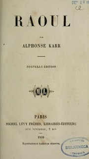 Cover of: Baonl par Alphonse Karr