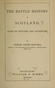 Cover of: The battle history of Scotland