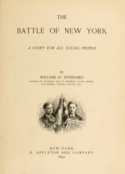 Cover of: The battle of New York: a story for all young people