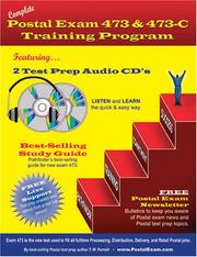 Cover of: Complete Postal Exam 473 & 473-C Training Program