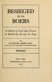 Besieged by the Boers by E. Oliver Ashe