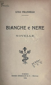 Cover of: Bianche e nere: novelle
