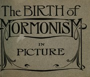 Cover of: Birth of Mormonism in picture