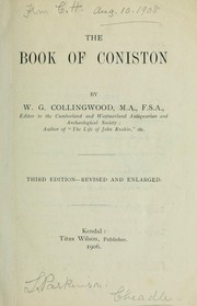 Cover of: The Book of Coniston