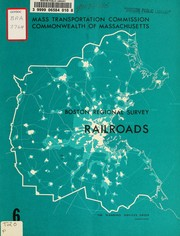 Cover of: The Boston regional survey, transportation inventory: chapter six: railroads | Planning Services Group (Cambridge, Mass.)