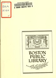 Cover of: Boston tree plant guide