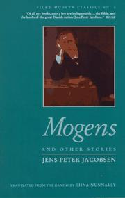 Cover of: Mogens and other stories | J. P. Jacobsen