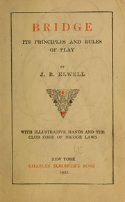 Cover of: Bridge | J. B. Elwell