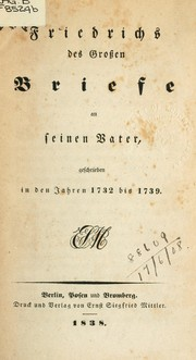 Cover of: Briefe an seinen Vater
