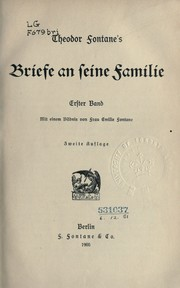 Cover of: Briefe an seine Familie
