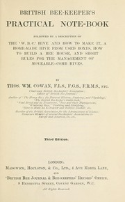 Cover of: British bee-keeper's practical notebook