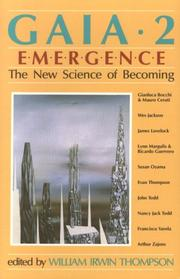 Cover of: Gaia 2: Emergence: The New Science of Becoming