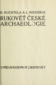Cover of: Bukovet ceske archaeologie