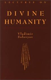 Cover of: Lectures on divine humanity