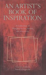 Cover of: An Artist's Book of Inspiration