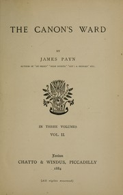 Cover of: The Canon's ward