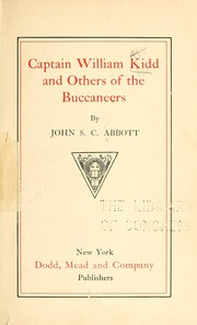 Cover of: Captain William Kidd and others of the buccaneers