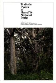 Cover of: Trailside plants of Hawaii's national parks