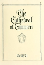 Cover of: The Cathedral of commerce. |