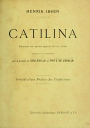 Cover of: Catilina