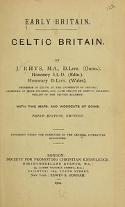 Cover of: Celtic Britain