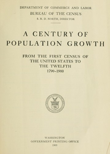 a century of population growth from the first census of the united states to the twelfth 1909. Black Bedroom Furniture Sets. Home Design Ideas