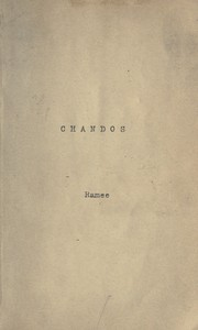 Cover of: Chandos