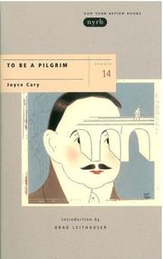 Cover of: To be a pilgrim