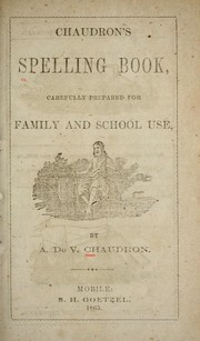 Cover of: Chaudron
