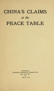 Chinas claims at the peace table