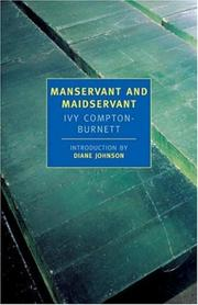 Manservant and maidservant by I. Compton-Burnett