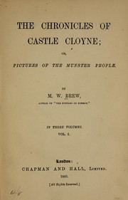 Cover of: The chronicles of Castle Cloyne | Margaret W. Brew