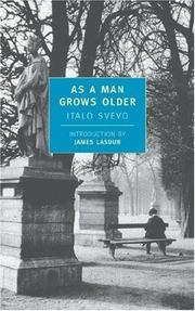 Cover of: As a Man Grows Older