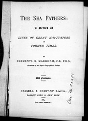Cover of: The sea fathers: a series of lives of great navigators of former times