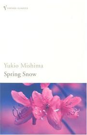 Cover of: Spring Snow (The Sea of Fertility)