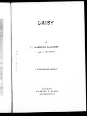 Cover of: Daisy | Marshall Saunders